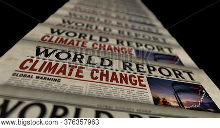 Climate Change World Report, Global Warming, Ecology And Environmental Crisis News. Daily Newspaper