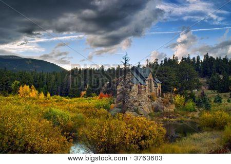 St Malo In Colorado In Hdr