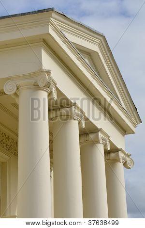 Hylands Park front entrance detail