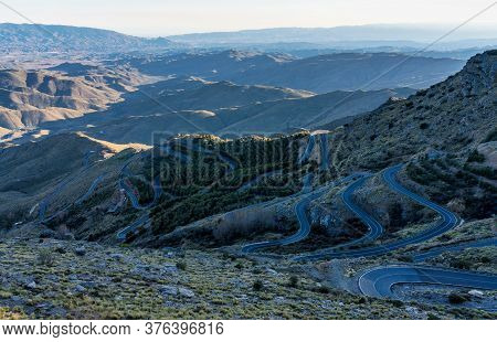 Alto De Velefique Is A High Mountain Pass, At An Elevation Of 1.820m - 5,971ft Above The Sea Level,