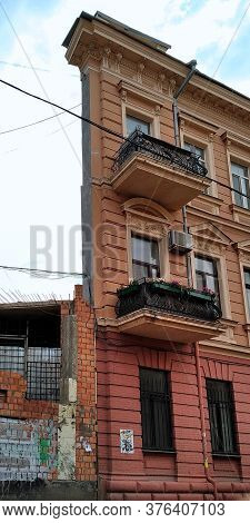 Odessa, Ukraine - June 20, 2019: This Is The Witch House, A Feature Of The Architecture Of Which Is