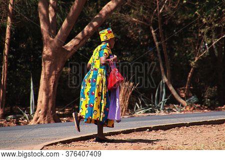 Moshi / Tanzania - 08 Jan 2017: The Women In Moshi City Of Tanzania, Africa