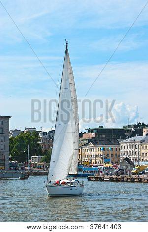 Helsinki Sailboat.