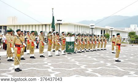 Guard Of Honor Battalion Of The Pakistan Army