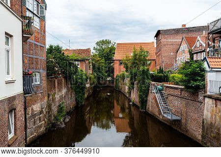Picturesque View Of The Old Town Of Stade