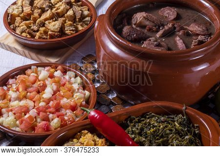 Feijoada, The Brazilian Cuisine Tradition And Typical Food