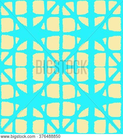 Japanese Tie Dye Seamless Pattern. Artistic Shibori Seamless Pattern. Elegant Kimono Fabric. Geometr