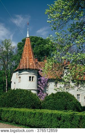 Carpathian, Ukraine - May, 6 2017: The Schoenborn Or Schonborn Hunting Palace, Beregvar Castle In Br