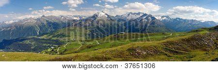 gerlospass, Hohe Tauern and Zillertaler Alpen