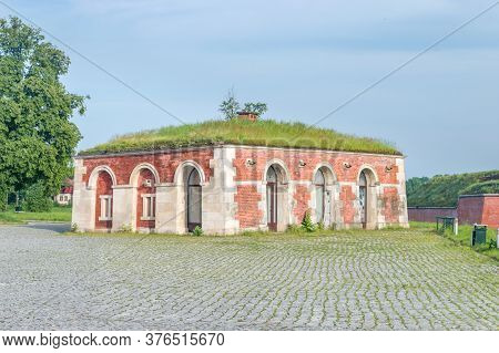 Guard-house Of Fortifications Around Old Town Of Zamosc. Historical City In Southeastern Poland And