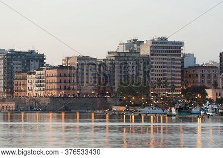Taranto City In The Morning, Italy, Puglia