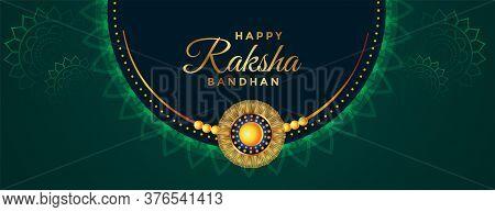 Traditional Beautiful Raksha Bandhan Festival Banner Design