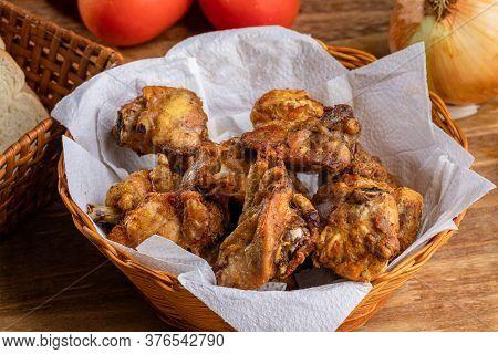 Brazilian Style Deep Fried Chicken. Called Frango A Passarinho