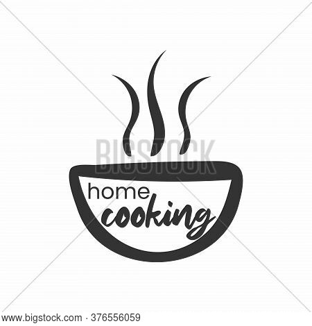 Home Cooking. Badges, Labels And Logo Elements, Retro Symbols For Bakery Shop, Cooking Club, Cafe, O