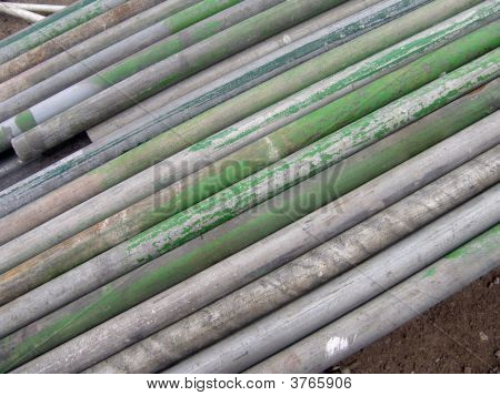 Galvanised Scaffold Poles