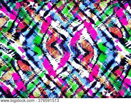 African Pattern. Stripes Seamless Pattern. Zebra Skin Print. Animal Camouflage Background. Geometric