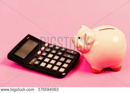 Economics And Finance. Economics And Business Administration. Piggy Bank Money Savings. Investing Ga