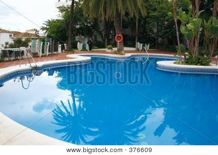 Blue Swimming Pool