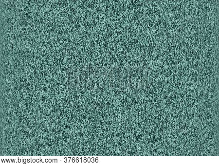 Grainy Abstract Surface. Dark Cyan Textured Background