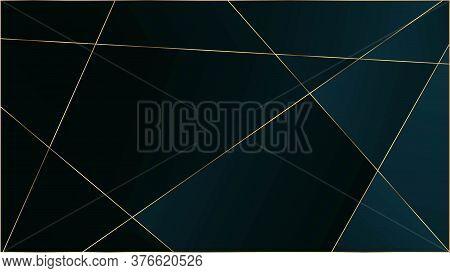 Blue Premium Triangular Pattern. Rich Silver Vip Geometric Celebration Wallpaper. Elegant Dark Plati