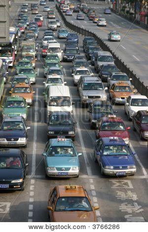 Shanghai Traffic Jam