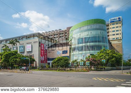 July 15, 2020: Luna Plaza, An 11 Story Shopping Center With Grocery Store, Food Court, Arcades For C