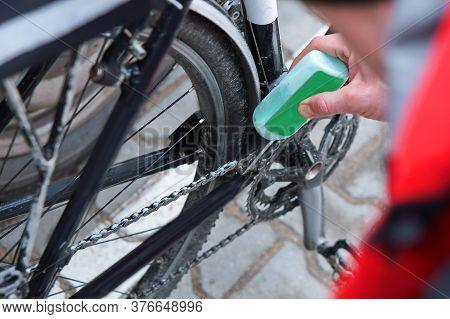 Maintain The Bike, Take Care Of The Bike, Lubricate The Bike Chain
