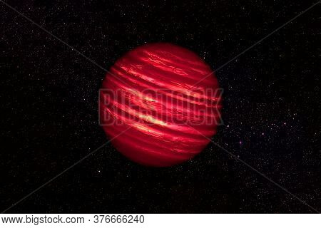 Fantastic Hot Planet. Elements Of This Image Were Furnished By Nasa.