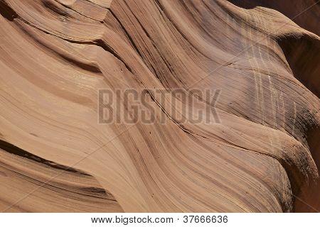 Slot Canyon Abstract