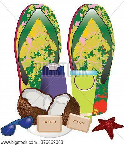 Summer Clothing Colorful Flip Flop Summer Clothing Colorful Flip Flop