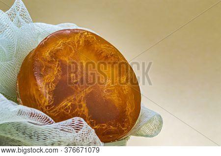Orange Glycerin Soap Handmade Washcloth Aromatherapy And Bathroom