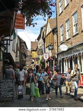 A Look At The Shambles, York, England