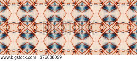 Majestic Floral Tile. Tile Japanese Geometric. Ogee Geo Pattern. Vivid Seamless  Mexican Mosaic Desi