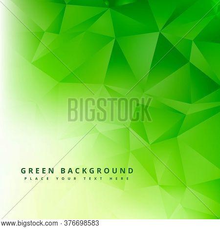 Polygonal Abstract Shape Geometric Polygonal Vector Design Illustration Background