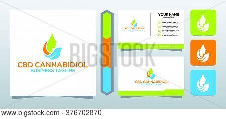 Cbd Oil Leaf Cannabidiol Icon Template For Cbd Cannabidiol Cannabis Hemp Marijuana Bussiness Consult