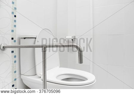 Safety And Grab Hand Rails For Toilets
