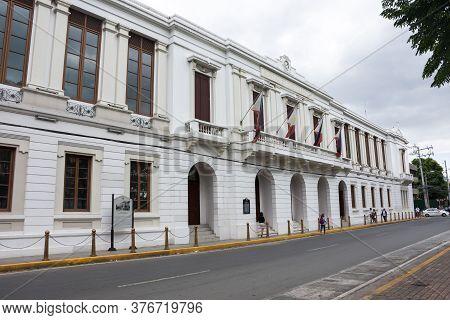 Manila, Philippines - January 11, 2017: Bureau Of The Treasury - Main Office