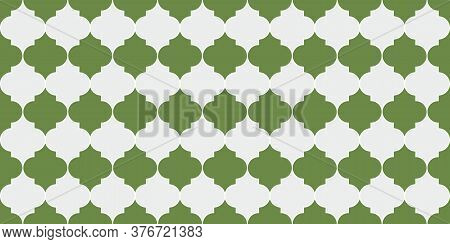Ottoman Mosque Window Tile. Seamless Moroccan Ornament Seamless Moroccan Mosaic Pattern. Ramadan Kar