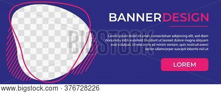 Abstract Banner Template Design. Horizontal header, web banner. Social Media Cover, poster. Vector abstract geometric design banner web template. banner. set of banner , ad banner design , website banner design , banner design with space for photo or imag