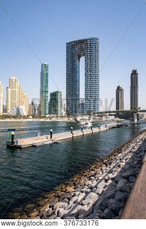 Dubai, United Arab Emirates, 02/07/2020. New Luxury The Address Residences Jumeirah Resort And Spa B
