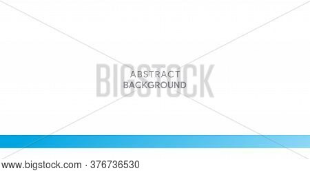Abstract Blue And White Background . Clean And Simple Blue And White Background