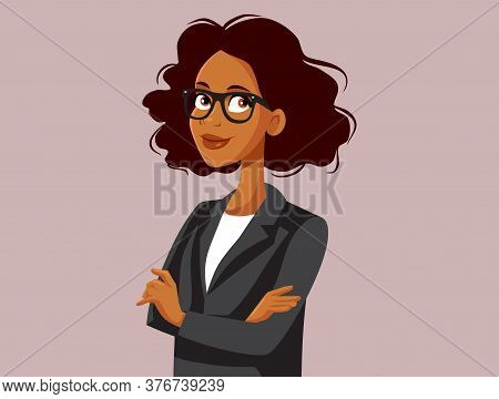 Professional Portrait Of A Strong Business Woman