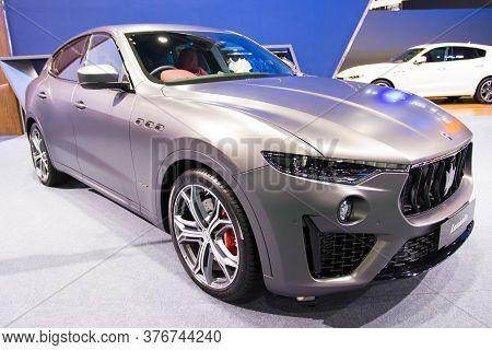 Bangkok Thailand :- July 16,2020 :-  Aston Marlin Car Show At Exhibition Bangkok International Morto