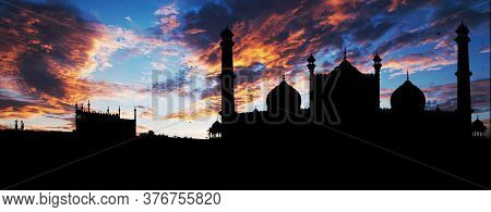 The Jama Masjid Of Delhi, Is One Of The Largest Mosques In India. It Was Built By The Mughal Emperor