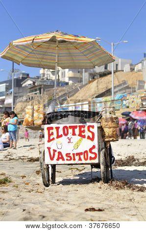 Mexican Vendor Cart