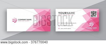 Business card . Business card design . Pink color business card ideas . Business cards Template . Modern Business card template design . editable business card design . double sided business card template . new business cards design collection for company