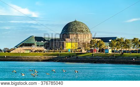 The Adler Planetarium, A Public Museum Dedicated To The Study Of Astronomy And Astrophysics In Chica
