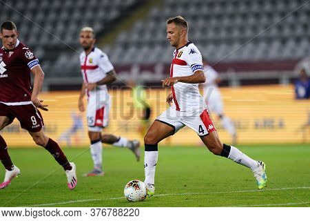 Torino, (italy). 16th July 2020. Italian Football Serie A. Torino Fc Vs Genoa Cfc. Domenico Criscito