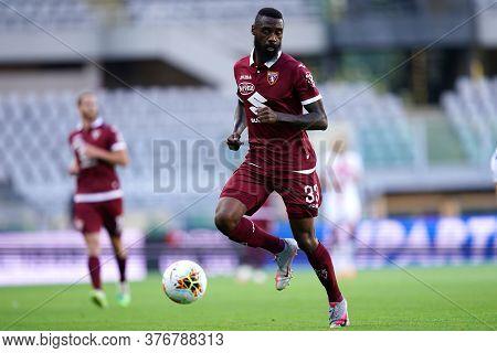 Torino, (italy). 16th July 2020. Italian Football Serie A. Torino Fc Vs Genoa Cfc. Nicolas N\'koulou