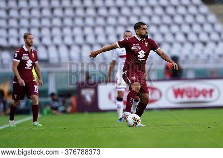 Torino, (italy). 16th July 2020. Italian Football Serie A. Torino Fc Vs Genoa Cfc. Tomas Rincon  Of
